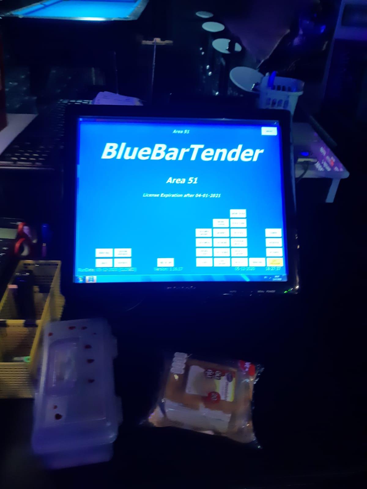 Area 51 - BlueBar Tender