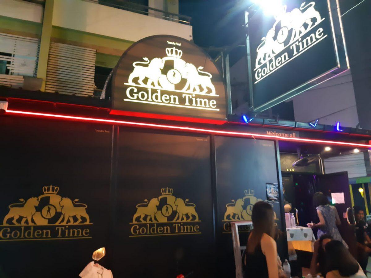 Golden Time - BlueBar Tender